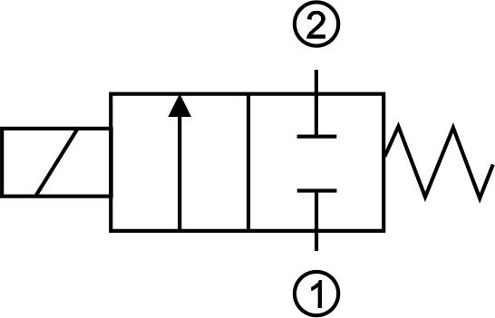 solenoid valve type 55 2 2 nc triem